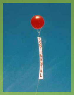 Alabama advertising balloon